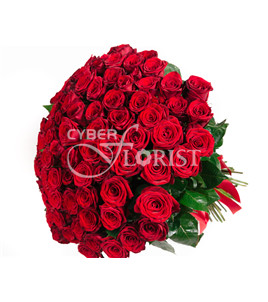 Moscow promo - 15, 25, 51 or 101 roses. Russia